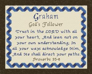 name blessings - graham