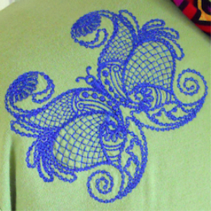 Laura's Butterfly Giants Collection HUS | Crafting | Embroidery