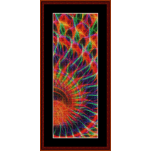 Fractal 558 Bookmark cross stitch pattern by Cross Stitch Collectibles | Crafting | Cross-Stitch | Other