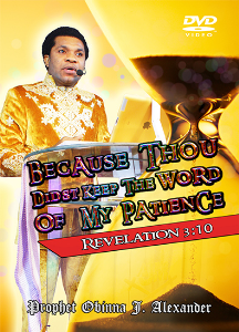 because thou didst keep the word of my patience