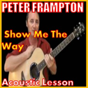 learn to play show me the way by peter frampton