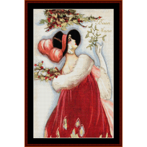 Buon Anno - Vintage Art cross stitch pattern by Cross Stitch Collectibles | Crafting | Cross-Stitch | Other