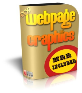 1000 webpage graphics with mrr