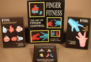 finger fitness family video and book combination
