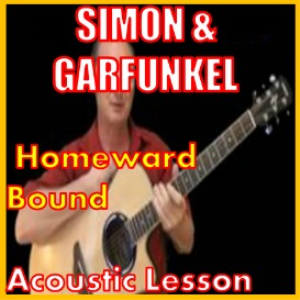 learn to play homeward bound by simon and garfunkel