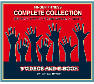 Complete Finger Fitness video collection and E-book (5 videos) | Movies and Videos | Fitness