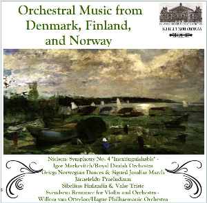 orchestral music from denmark, finland, and norway