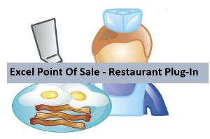 excel pos - restaurant plug-in
