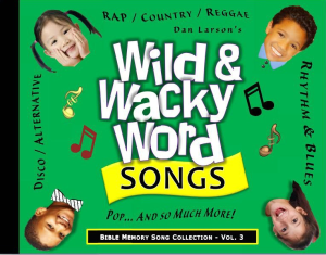 wild and wacky word songs - volume 3