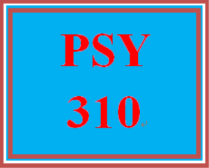 psy 310 week 1 historical influences presentation