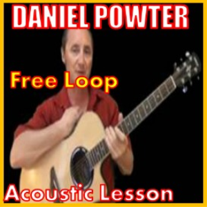 learn to play free loop by daniel powter