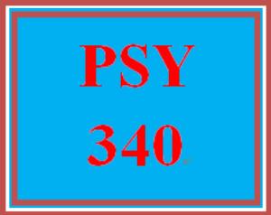 PSY 340 Week 4 Regulatory Behavior Paper | eBooks | Education