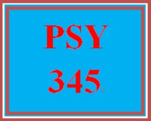 PSY 345 Week 4 Speech Perception Worksheet | eBooks | Education