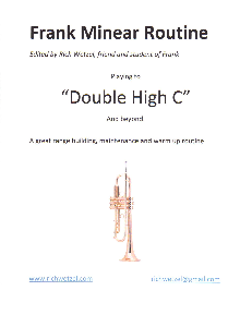 Frank Minear Routine / Trumpet Warm Up, Range and Maintenance | eBooks | Music