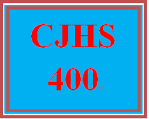 cjhs 400 week 3 cognitive theory table