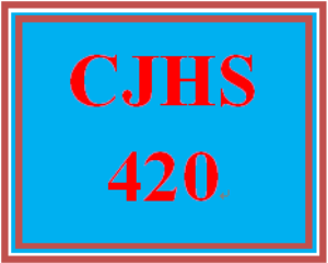 CJHS420 Week 3 Discussion Summary | eBooks | Education