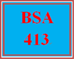bsa 413 week 4 individual: service operation document