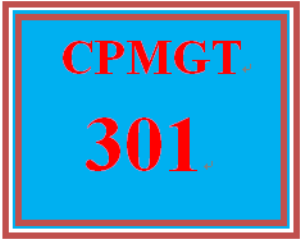 CPMGT 301 Week 3 Preventing Failures Discussion | eBooks | Education