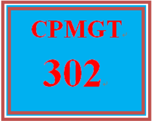 cpmgt 302 week 4 procurement planning paper
