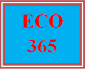 eco 365 week 1 challenging concepts
