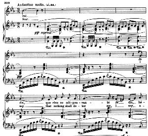 je dis que rien ne m'épouvante. mezzo aria (micaela). g. bizet: carmen, act iii sc. 5. vocal score, a4. ed. schirmer. french/engl. (pd).