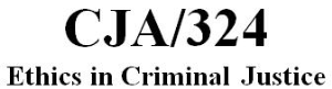 cja 324 week 1 individual – ethics awareness inventory