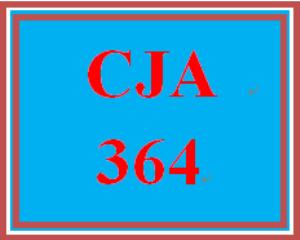CJA 364 Week 1 Individual Paper – Criminal Procedure Policy | eBooks | Education