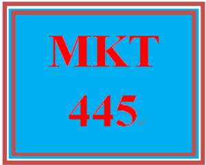 MKT 445 Week 1 Sales Function Paper | eBooks | Education