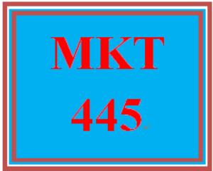 mkt 445 week 5 sales relationship paper