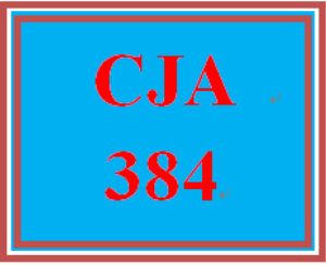 CJA 384 Week 4 Social Disorganization Question & Answer   eBooks   Education