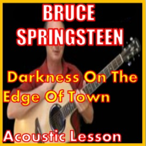 Learn to play Darkness On The Edge Of Town by Bruce Springsteen | Movies and Videos | Educational