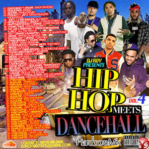 dj roy hip hop meets dancehall hardcore mix vol.4