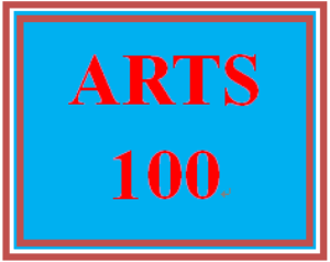 ARTS 100 Week 1 Experiencing the Arts: Community Guide | eBooks | Education