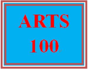 ARTS 100 Entire Course   eBooks   Education
