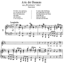 Oh dolce mia speranza: Aria (Rossane) in F minor (original key). G.F.Haendel. Floridante HWV 14, Vocal Score, Ed. Peters, Gesange für eine frauenstimme, Ed. H. Roth (1915). 4pp. Italian.(A4 portrait) | eBooks | Sheet Music