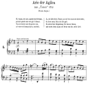 Si t'amo o caro: Soprano Aria (Agilea) in G minor (original key). G.F.Haendel. Teseo HWV 9, Vocal Score, Ed. Peters, Gesange für eine frauenstimme, Ed. H. Roth (1915). 4pp. Italian. (A4 portrait) | eBooks | Sheet Music