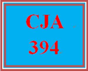 CJA 394 Week 4 Corrections Trend Evaluation | eBooks | Education
