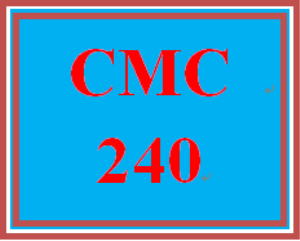 CMC 240 Week 9 Evaluating Your Research Process | eBooks | Education