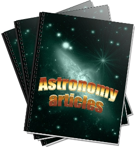 over 20 articles on astronomy