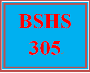 bshs 305 week 4 interoffice memo
