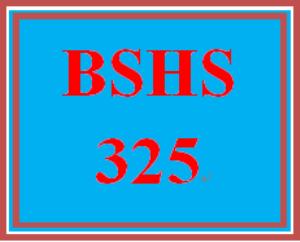 BSHS 325 Week 4 Later Adulthood Development Report | eBooks | Education