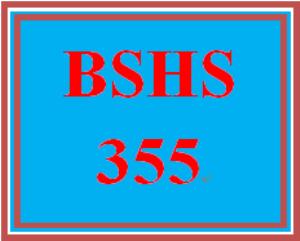 bshs 355 week 1 human services needs assessment