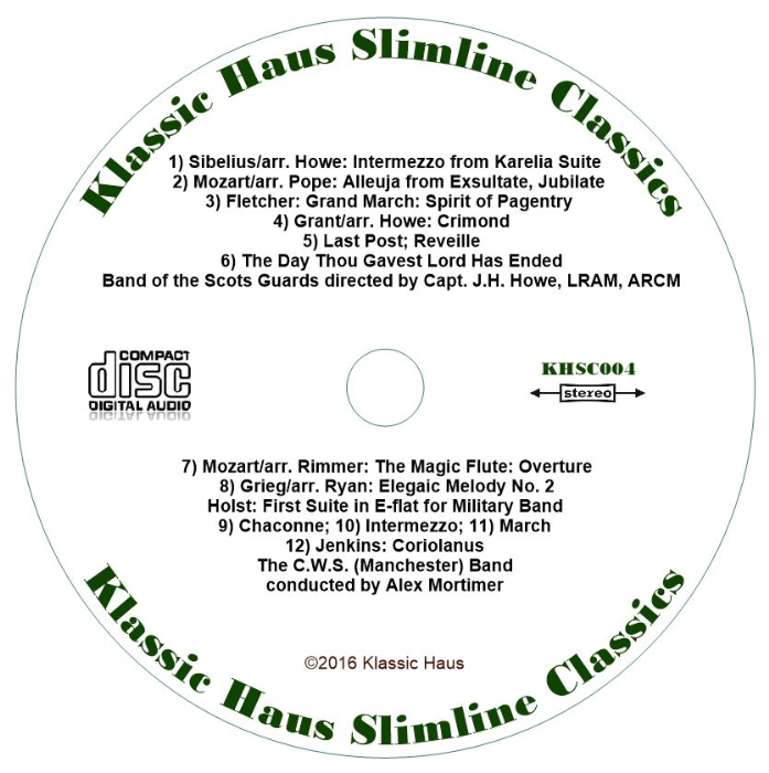 Second Additional product image for - Music for a Solemn Occasion - Slimline Classics