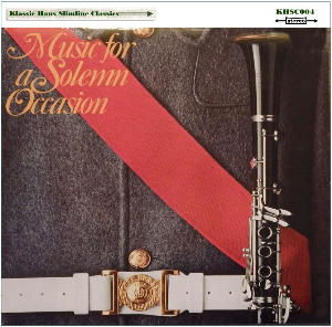 music for a solemn occasion - slimline classics
