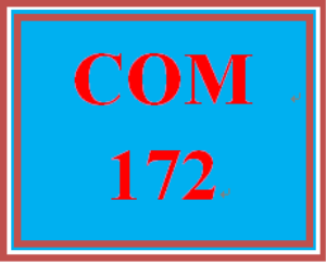 com 172 entire course