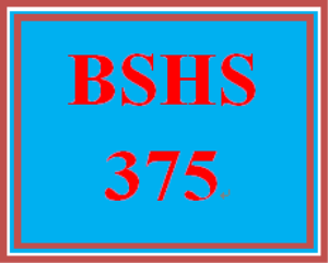 bshs 375 week 3 database – encounters information