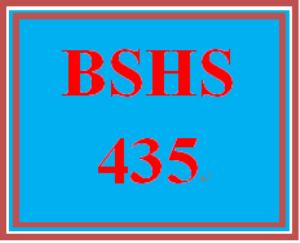 BSHS 435 Week 4 Statistical Analyses Paper | eBooks | Education