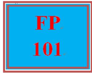 FP 101 Week 6 Investments Worksheet | eBooks | Education