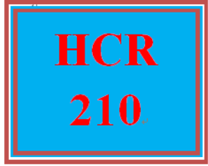 HCR 210 Week 4 Patient Reports | eBooks | Education