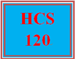 HCS 120 Week 1 Job Interview Question | eBooks | Education